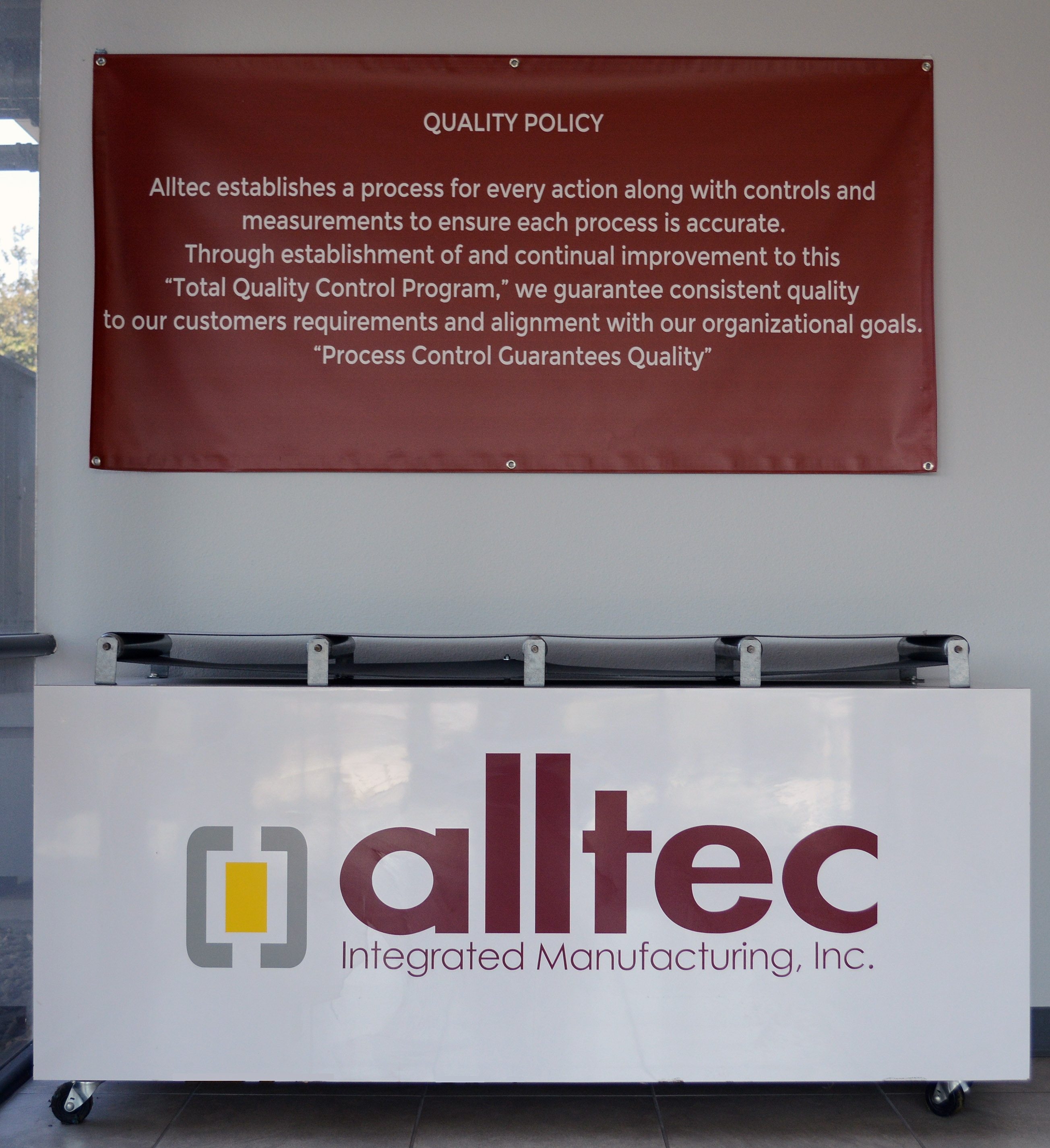 ALLTEC QUALITY POLICY